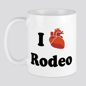 I (Heart) Rodeo Mug