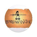 Barbarianette Button