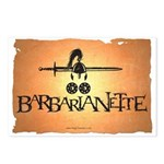 Barbarianette Postcards (Package of 8)