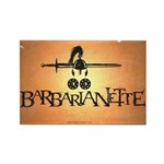 Barbarianette Rectangle Magnet