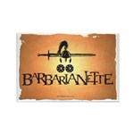 Barbarianette Rectangle Magnet (100 pack)