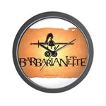 Barbarianette Wall Clock