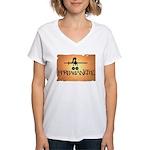 Barbarianette Women's V-Neck T-Shirt