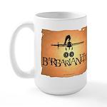 Barbarianette Large Mug