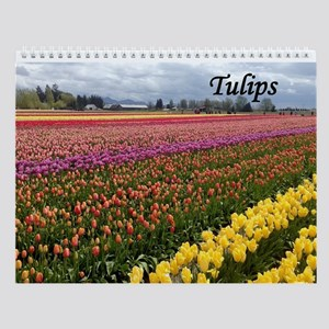 Wall Calendar-Tulips