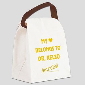 MY HEART BELONGS... Canvas Lunch Bag