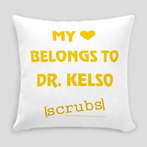 MY HEART BELONGS... Everyday Pillow