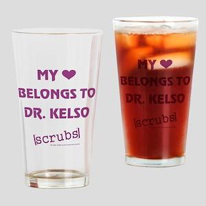 MY HEART BELONGS TO... Drinking Glass