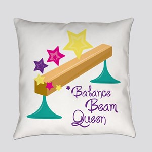 Balance Beam Queen Everyday Pillow