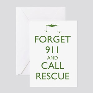Forget 911 Greeting Cards