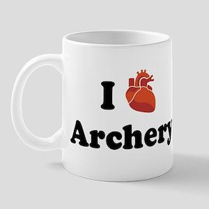 I (heart) Archery Mug