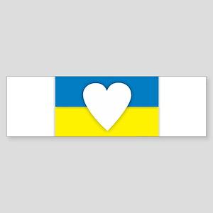 Ukraine Design Bumper Sticker