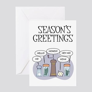 Funny spices greeting cards cafepress season39s greetings greeting cards m4hsunfo