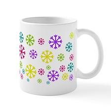 Bright Snowflakes Mugs