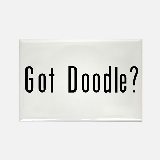 Got Doodle? Rectangle Magnet