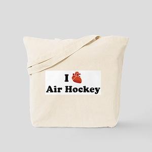 I (heart) Air Hockey Tote Bag
