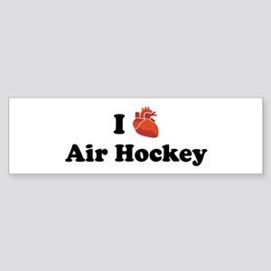 I (heart) Air Hockey Bumper Sticker
