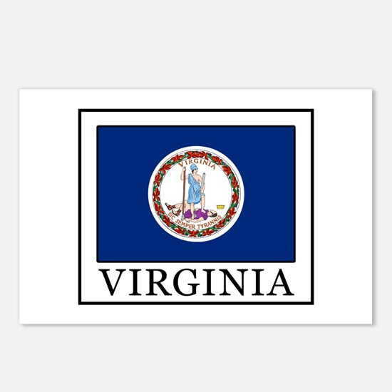 Virginia Postcards (Package of 8)