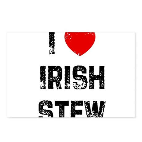 I * Irish Stew Postcards (Package of 8)
