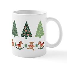 Christmas Trees And Toys Mugs