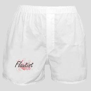 Flautist Artistic Job Design with Flo Boxer Shorts
