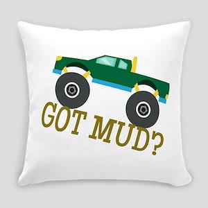 Got Mud? Everyday Pillow