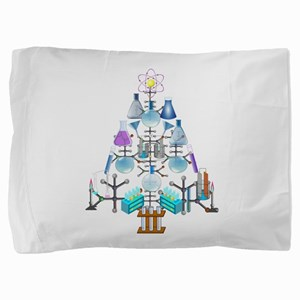 Oh Chemistry, Oh Chemist Tree Pillow Sham