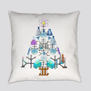 Oh Chemistry, Oh Chemist Tree Everyday Pillow