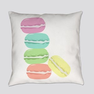 French Macaron Everyday Pillow