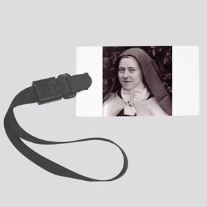 Saint Therese Of Lisieux Large Luggage Tag