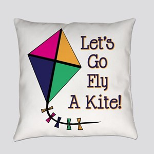 Fly a Kite Everyday Pillow