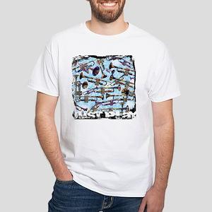 Trumpet Design Just Play by Juleez T-Shirt