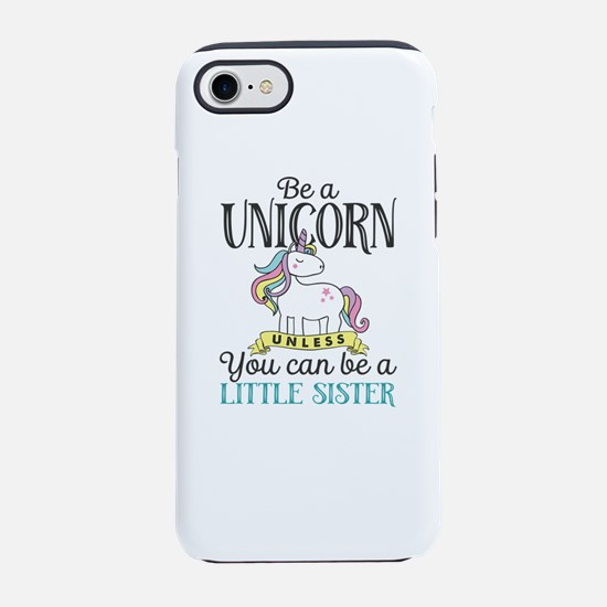 Unicorn LITTLE SISTER iPhone 8/7 Tough Case