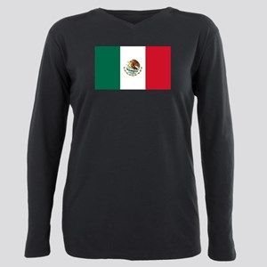 Mexico Plus Size Long Sleeve Tee