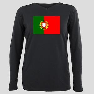 Portugal Plus Size Long Sleeve Tee