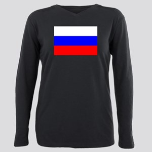 Russia Plus Size Long Sleeve Tee