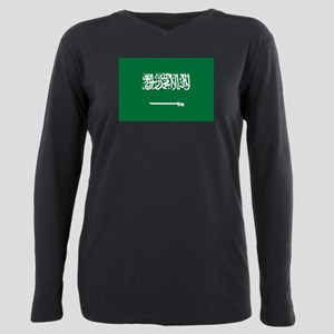 Saudi Arabia Plus Size Long Sleeve Tee