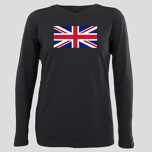 United Kingdom Plus Size Long Sleeve Tee