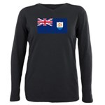 Anguilla Plus Size Long Sleeve Tee