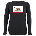 California Plus Size Long Sleeve Tee