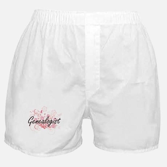 Genealogist Artistic Job Design with Boxer Shorts