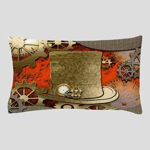 Steampunk witch hat Pillow Case