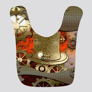 Steampunk witch hat Bib