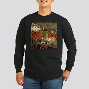 Steampunk witch hat Long Sleeve T-Shirt