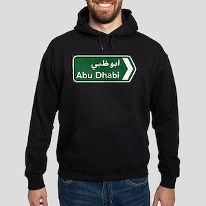 Abu Dhabi, United Arab Emirates Hoodie (dark)
