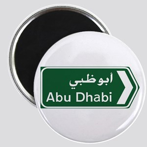 Abu Dhabi, United Arab Emirates Magnet