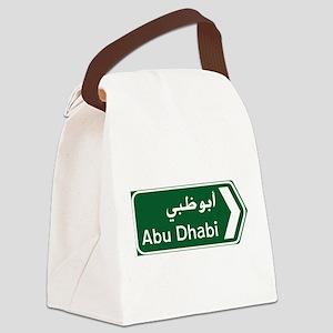 Abu Dhabi, United Arab Emirates Canvas Lunch Bag