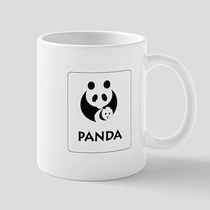 Panda sign, Chengdu, China Mug