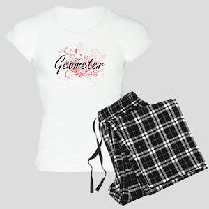 Geometer Artistic Job Desig Women's Light Pajamas