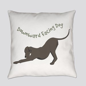 Downward Dog Everyday Pillow